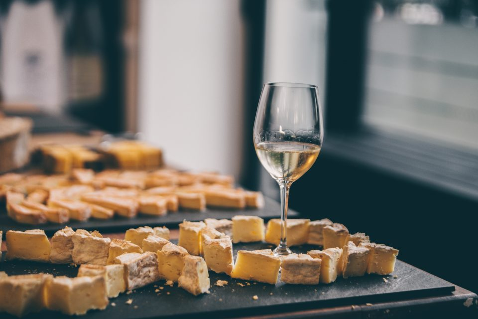 Champagne et fromage