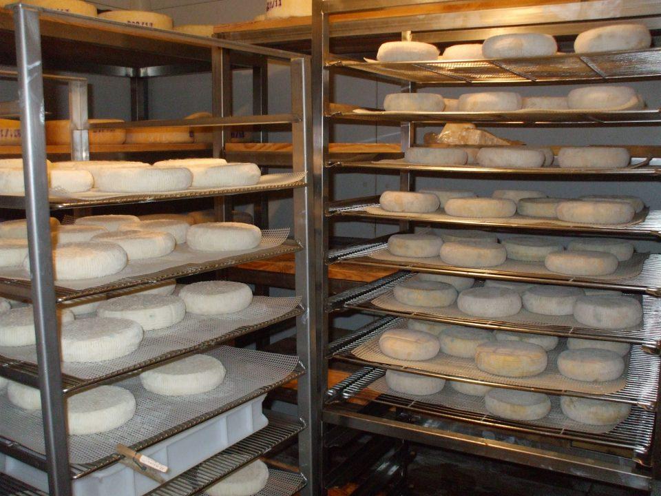 Les fromages affinés à l'abbaye