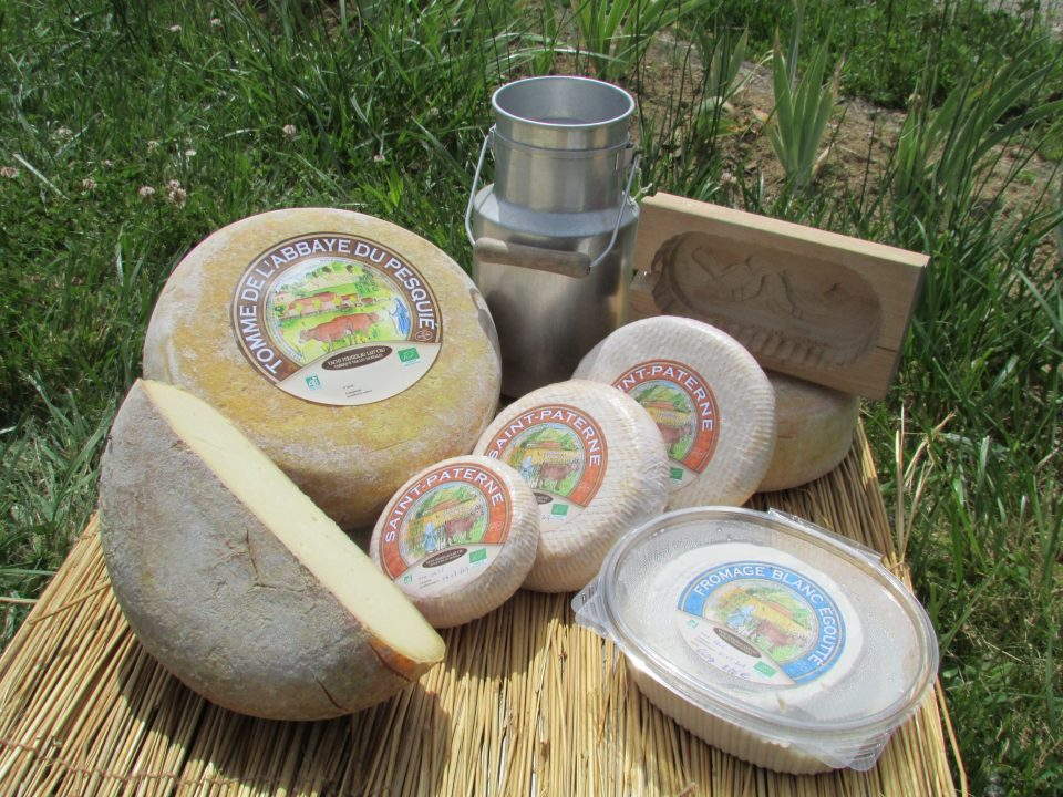 Les fromages de l'abbaye du Pesquié