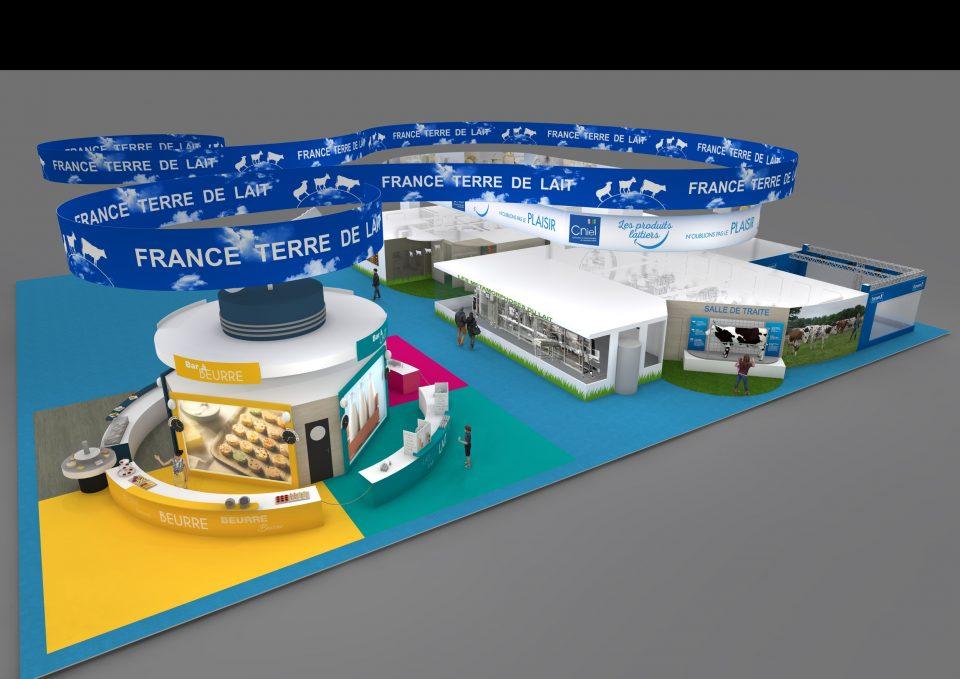 10000 fromages L'Éphémère seront produits directement sur le site du SIA 2019