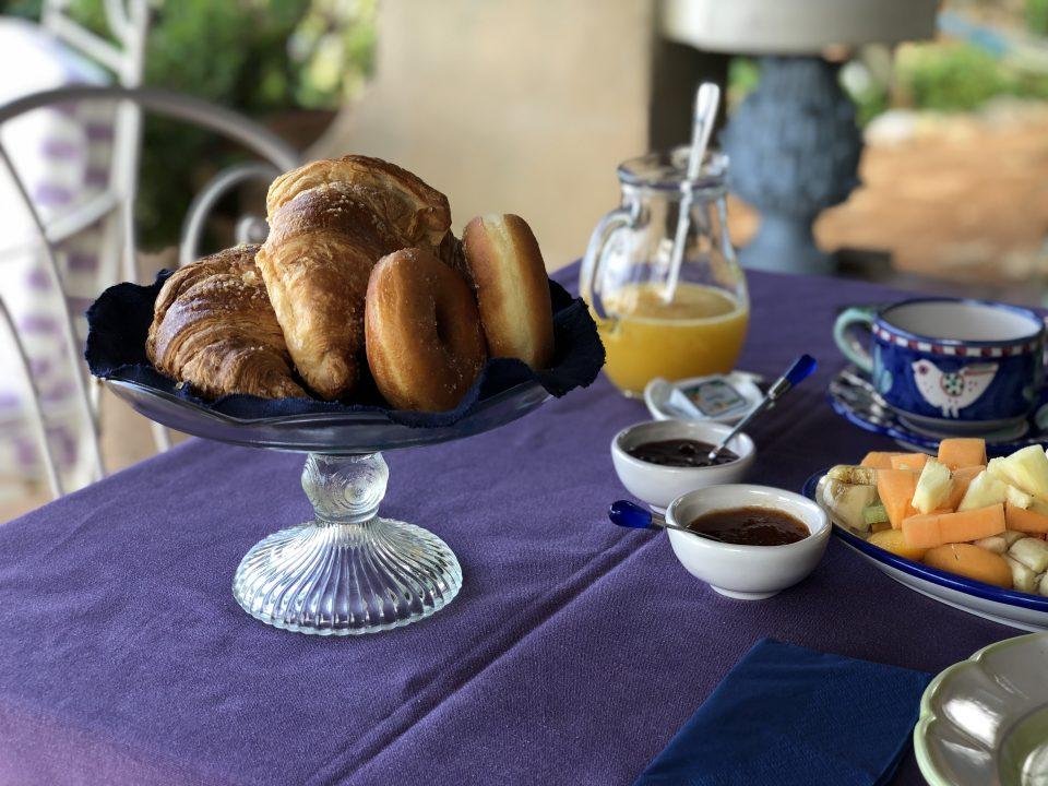 Petit déjeuner italien