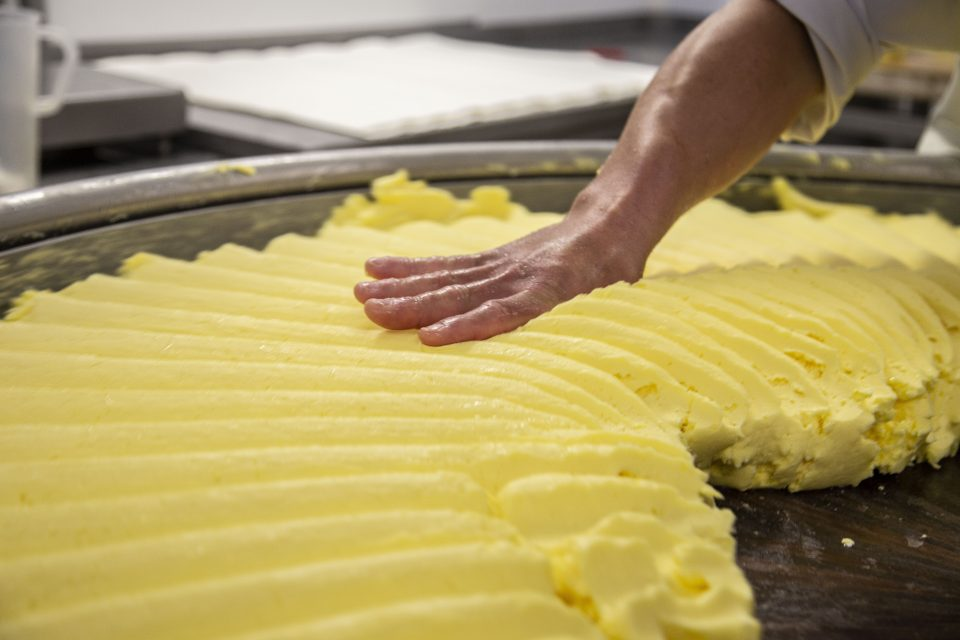 Malaxage du beurre