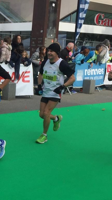 Bertrand Olivier marathonien