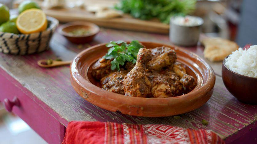 Poulet tandoori au yaourt