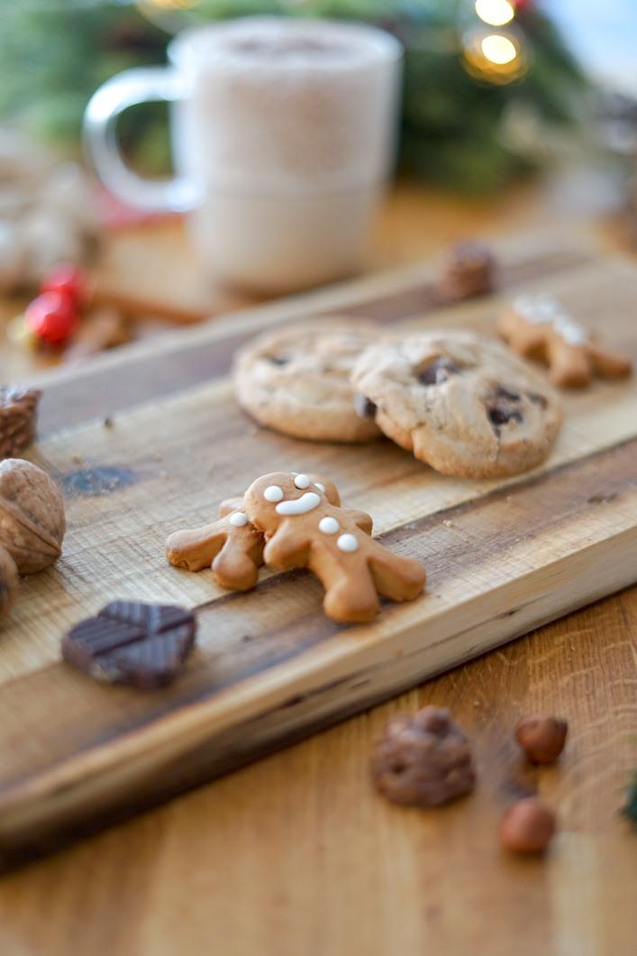 lait de poule et biscuit de Noël