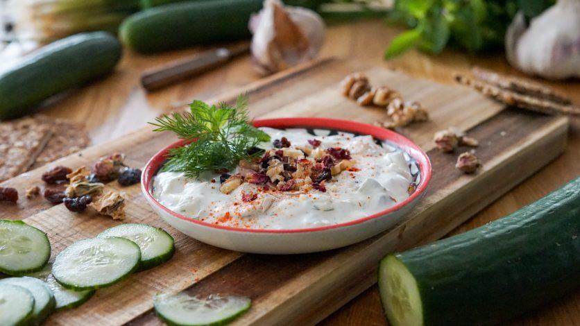 Concombre au yaourt - Perse