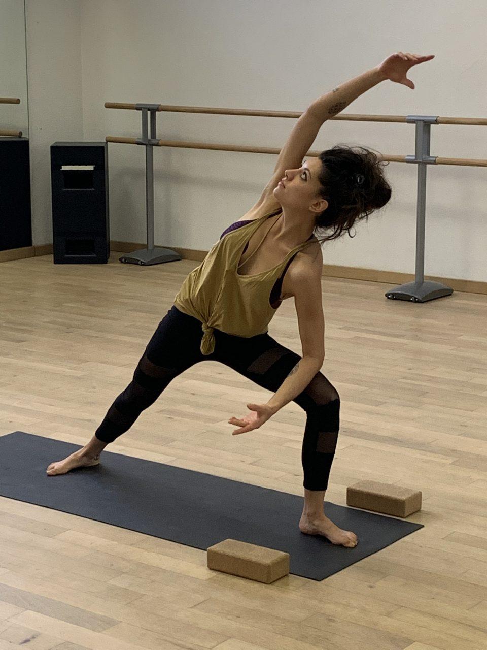 Laura, passionnée de yoga