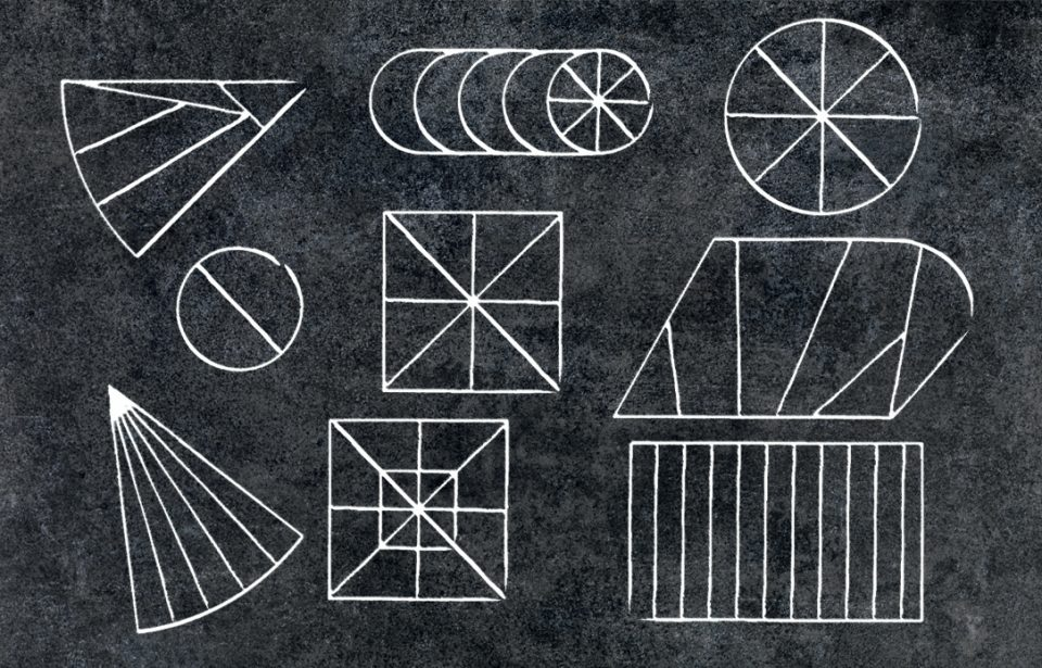 Géométrie sur un plateau !