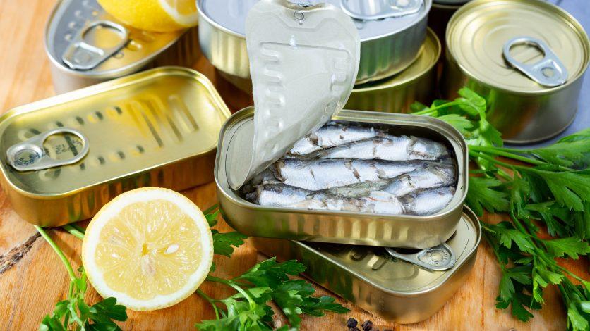 sardines en boite