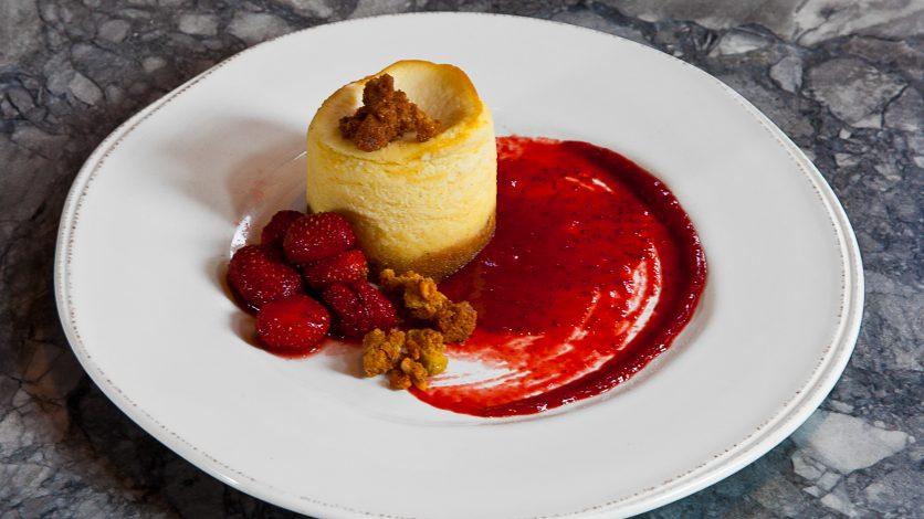 Cheesecake à la tomme de Savoie - Clarisa Martino