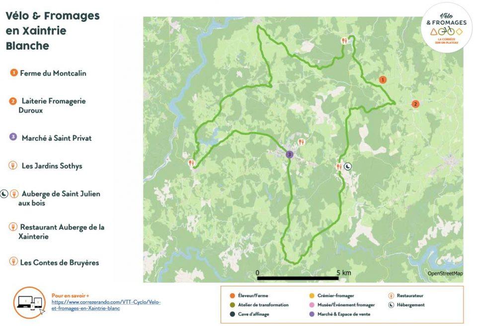Parcours niveau intermédiaire en Corrèze