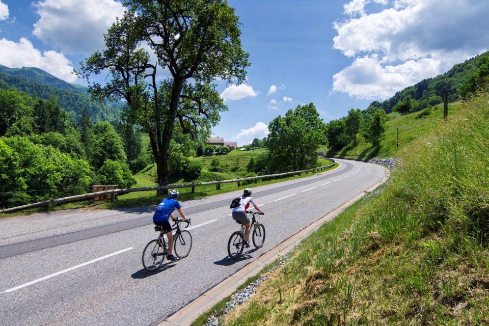Sur les routes en Haute-Savoie