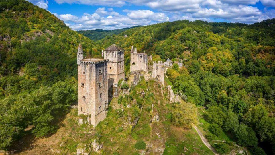 Tours de Merle en Corrèze