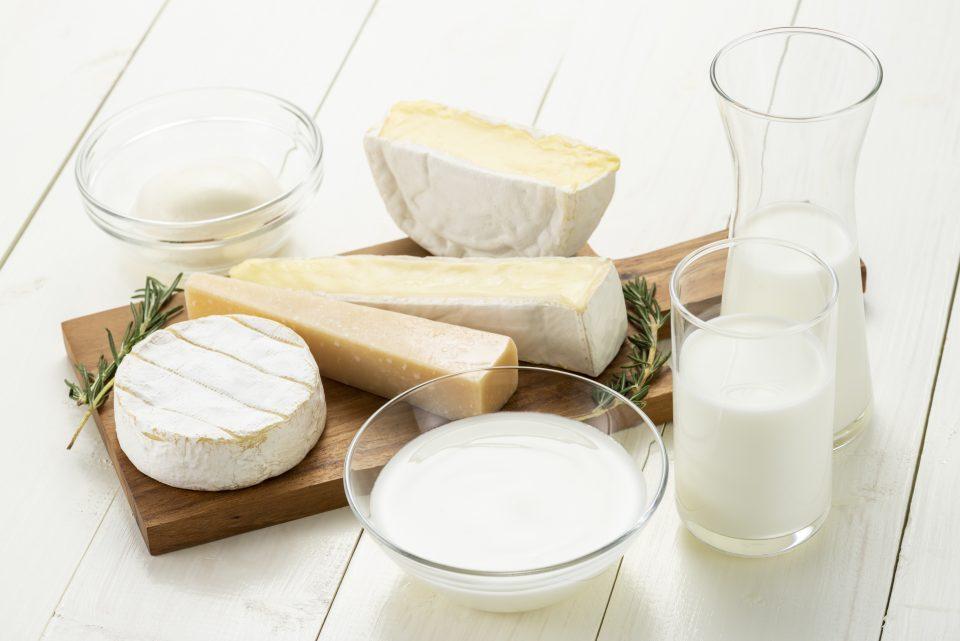Lacto-fermentation des produits laitiers