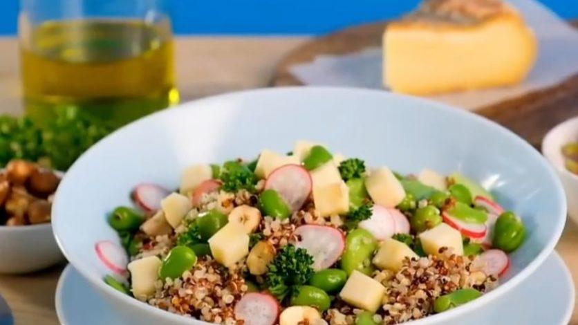salade de feves et quinoa