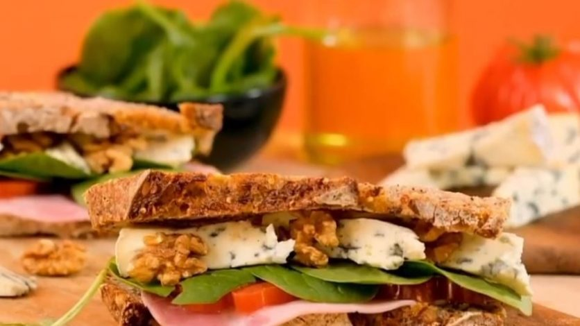 sandwich à la fourme d'Ambert