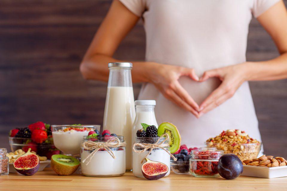 Différentes spécialités laitières