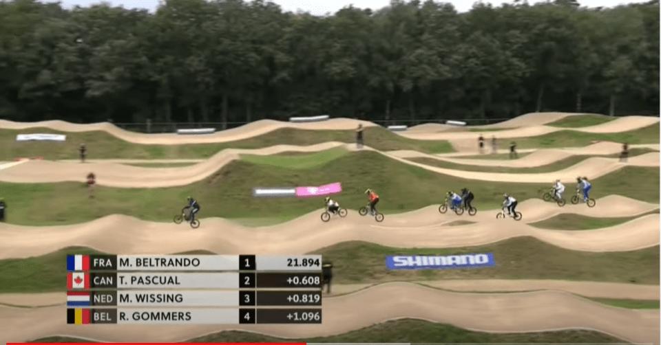 la Française Mariane Beltrando est devenue ce dimanche championne du monde juniors de BMX Supercross, à Papendal